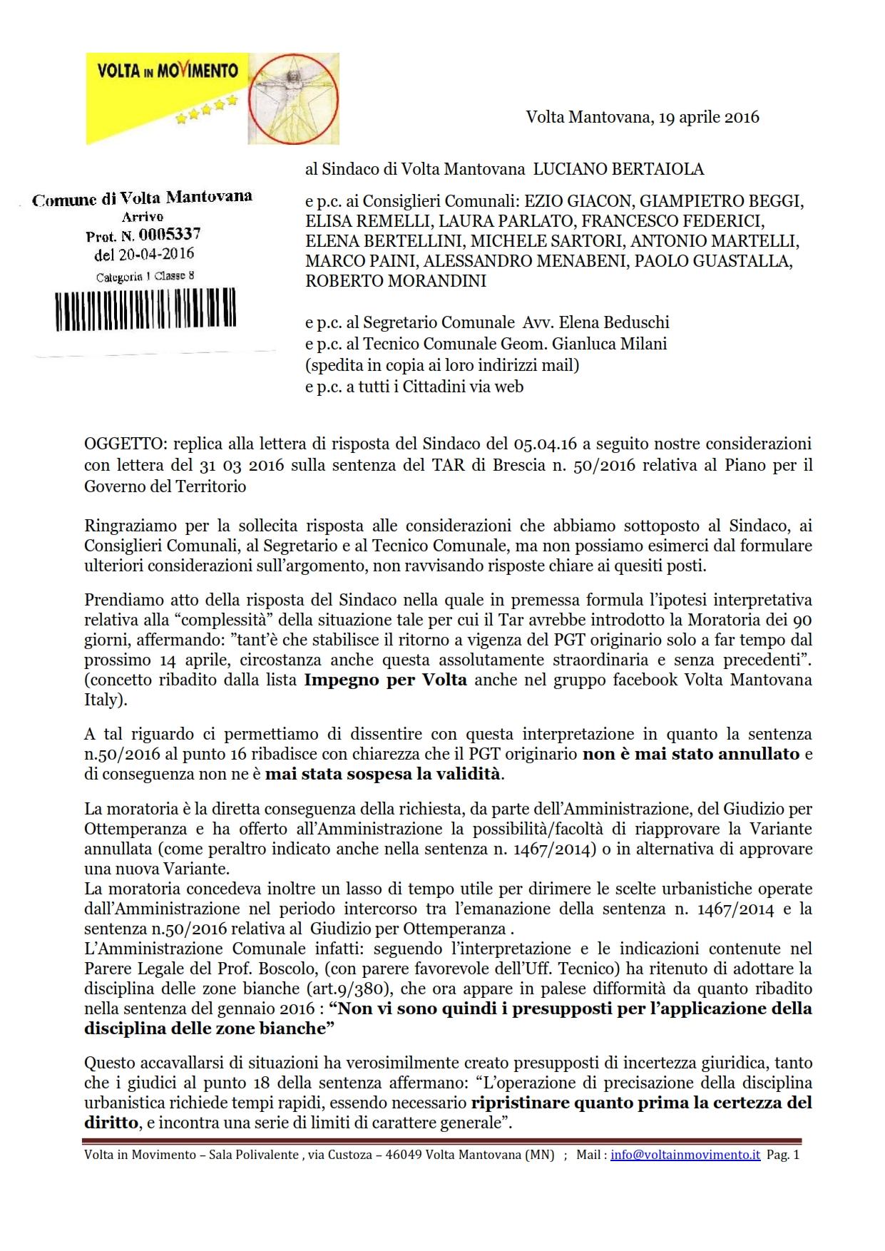 160419_Lettera-di-replica-al-Comune (protocollata)_opt per il web_001