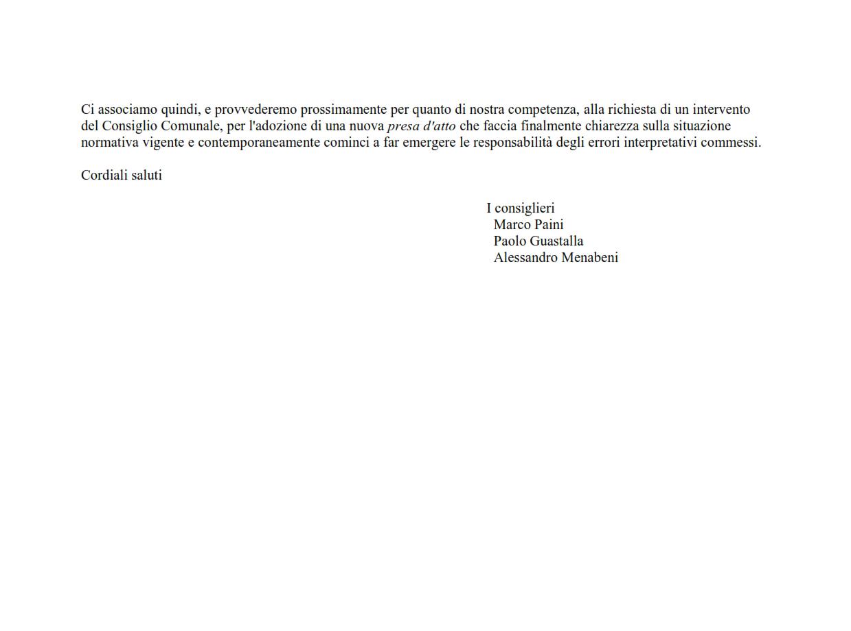 risposta a Volta in Movimento nota sentenza TAR 50-2016_opt_002
